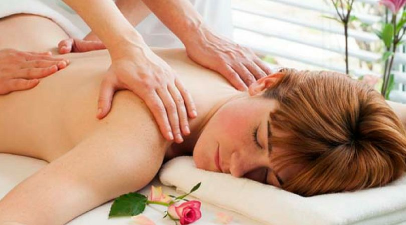 Four-Handed massage at Espa